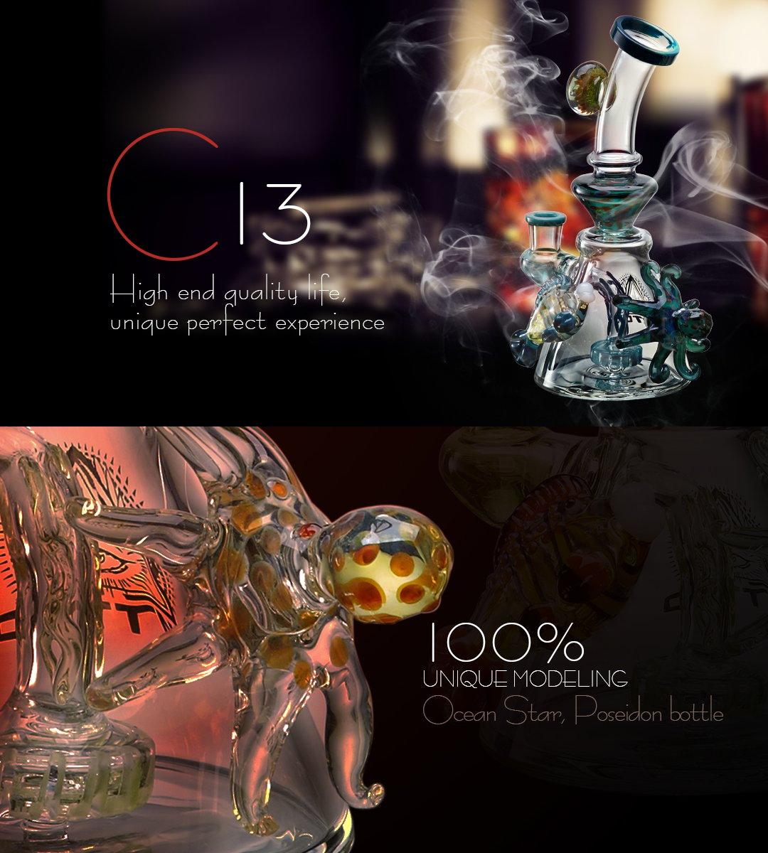 C13 Glass Bong 2