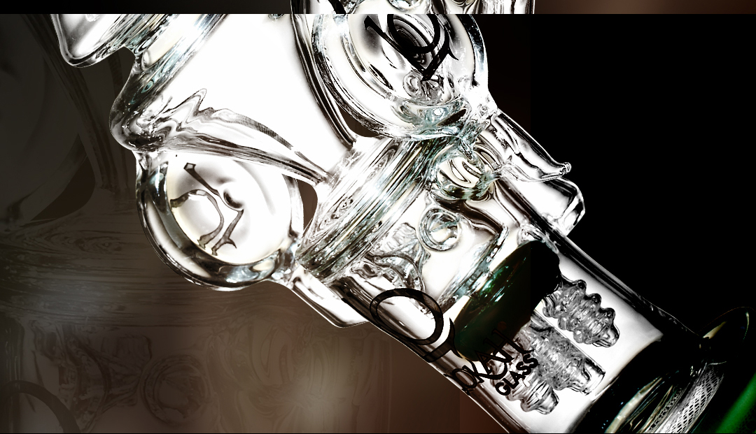 WPC387 Glass Bong 4