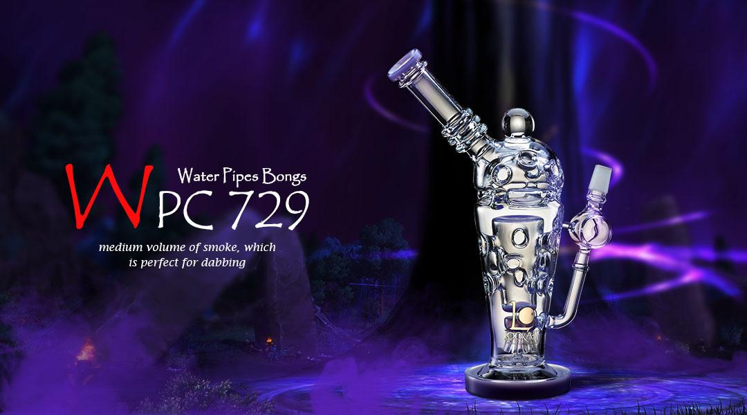 WPC729 Glass Bong