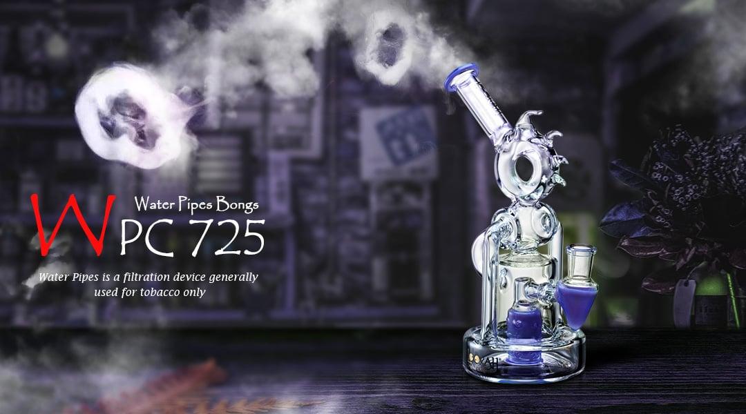 WPC725 Glass Bong