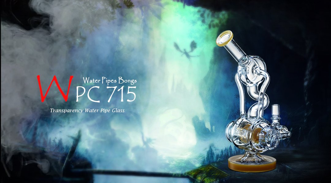 WPC715 Water Glass Pipe