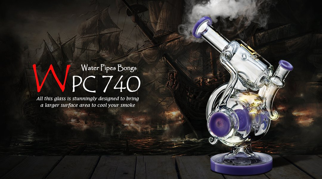 WPC740 water pipe