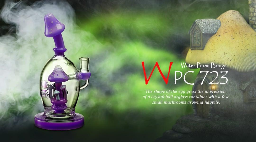 WPC723 Glass Bong