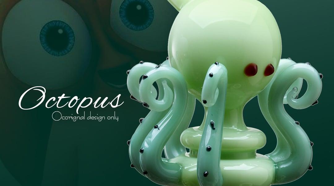 WPC731 Octopus bong