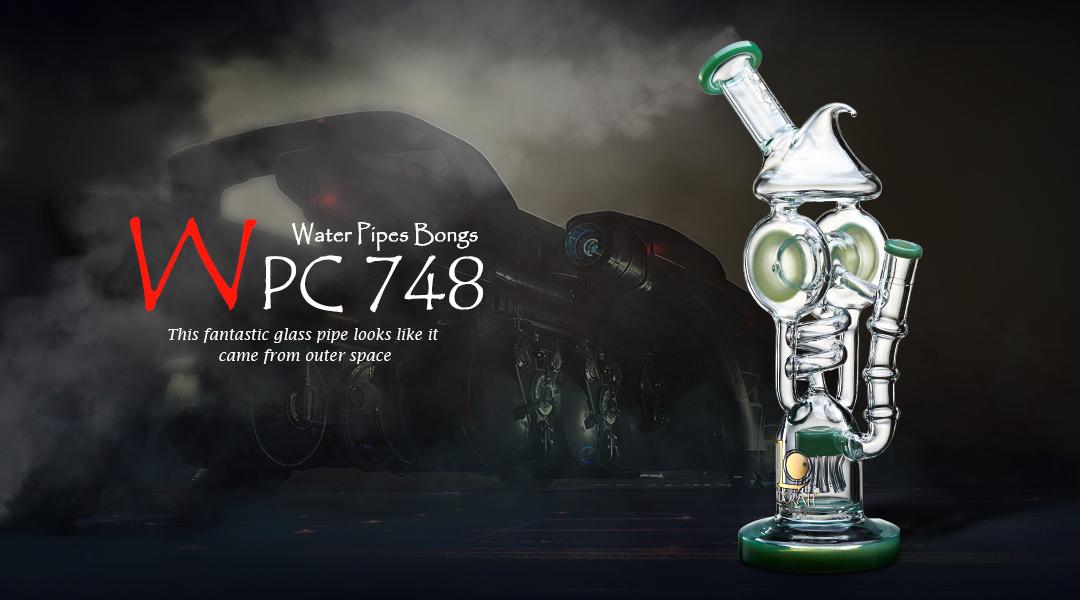 WPC748 Glass Bong
