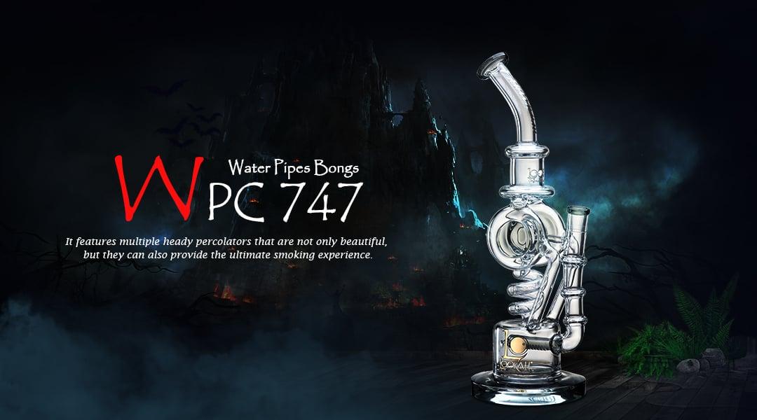 WPC747 Glass Bong