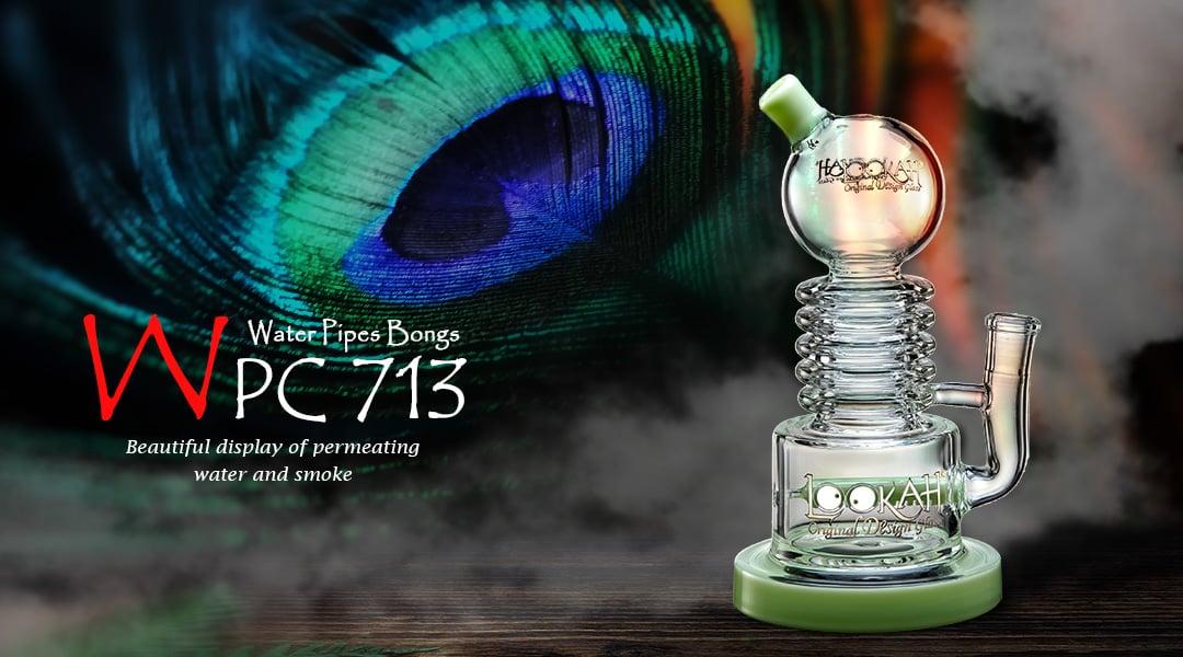 WPC713 Glass Bong