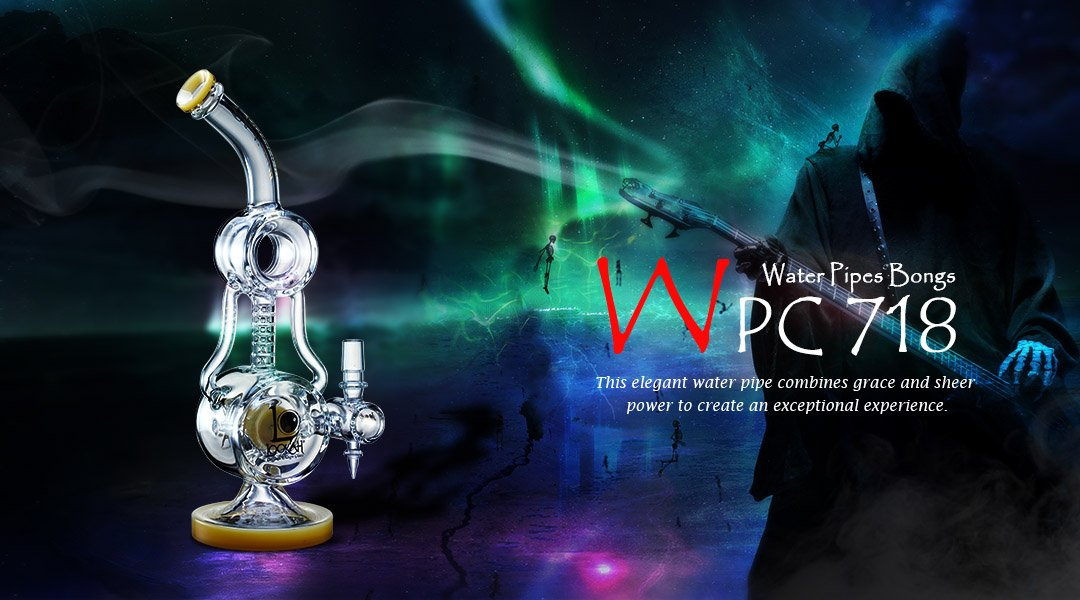 WPC718 Glass Bongs