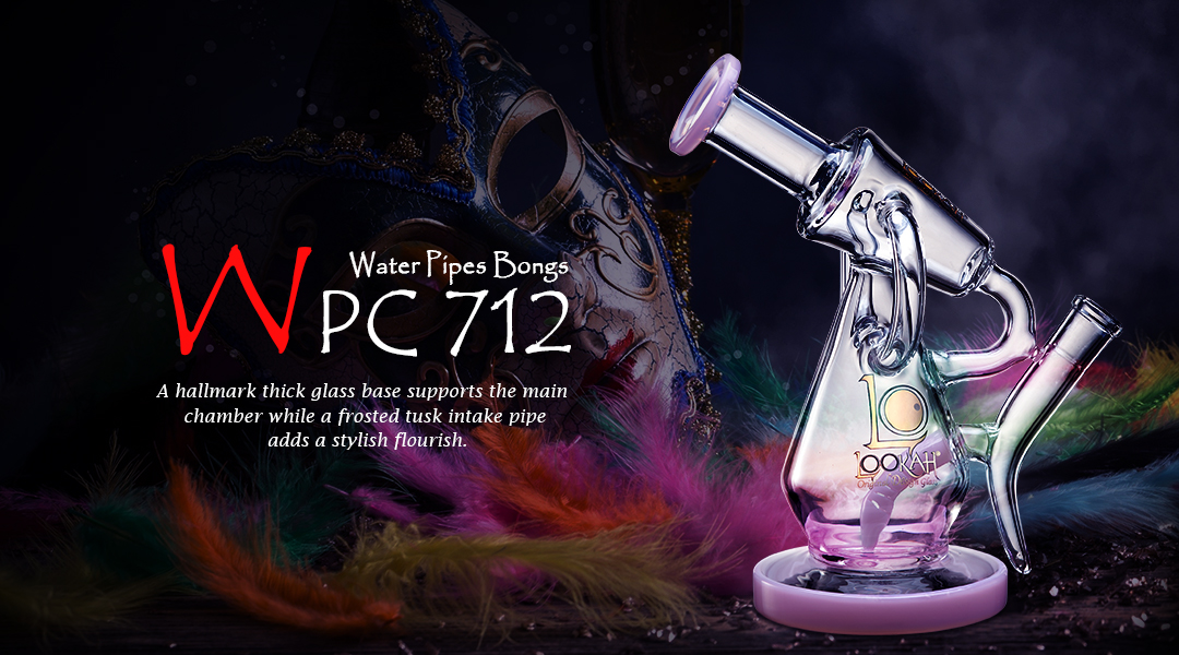 WPC712 Glass Bong