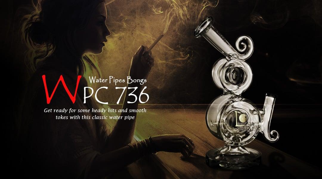 WPC736 Lookah Glass Bong