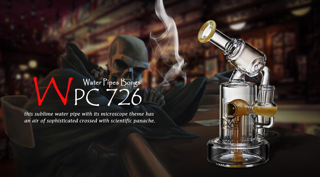 WPC726 Glass Bong