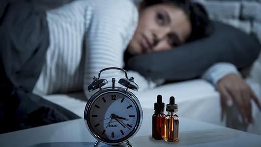 use CBD oil to relieve insomnia?