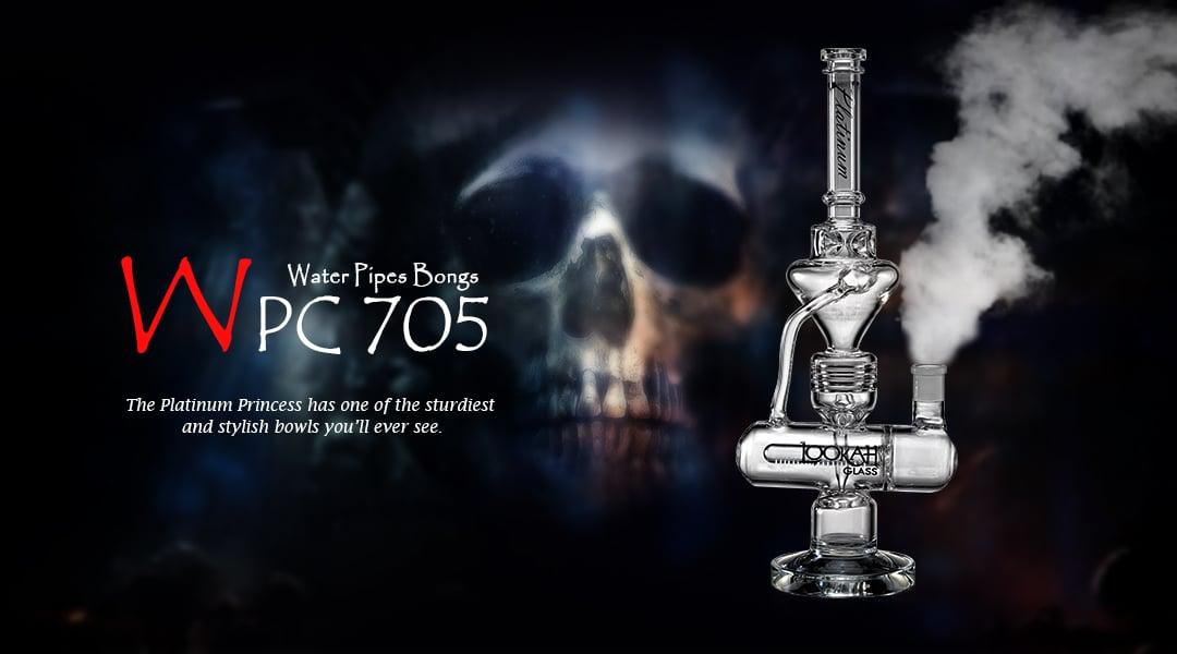 WPC705 Glass Bong