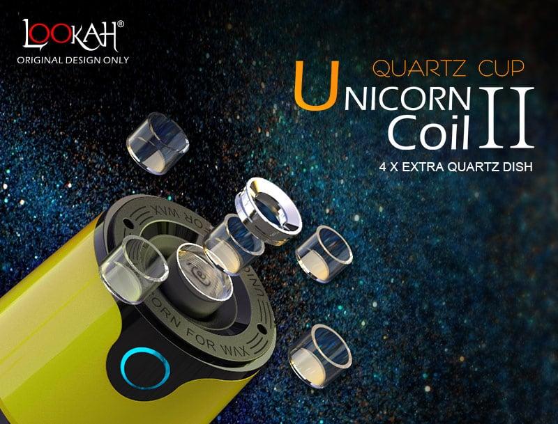 Lookah Unicorn Quartz Coil Ⅱ