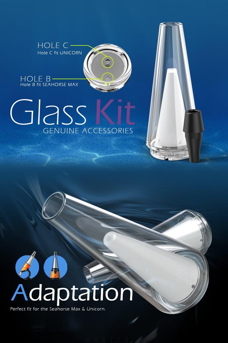 Unicorn And Seahorse Max Standard Glass Kit