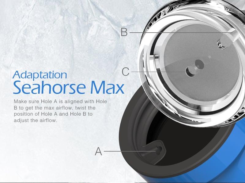 Seahorse Max Standard Glass Kit