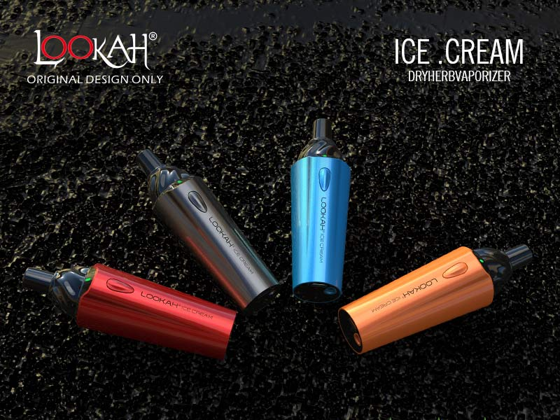 Ice Cream Dry Herb Vaporizer 1