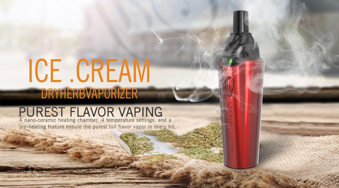 Ice Cream Dry Herb Vaporizer 7