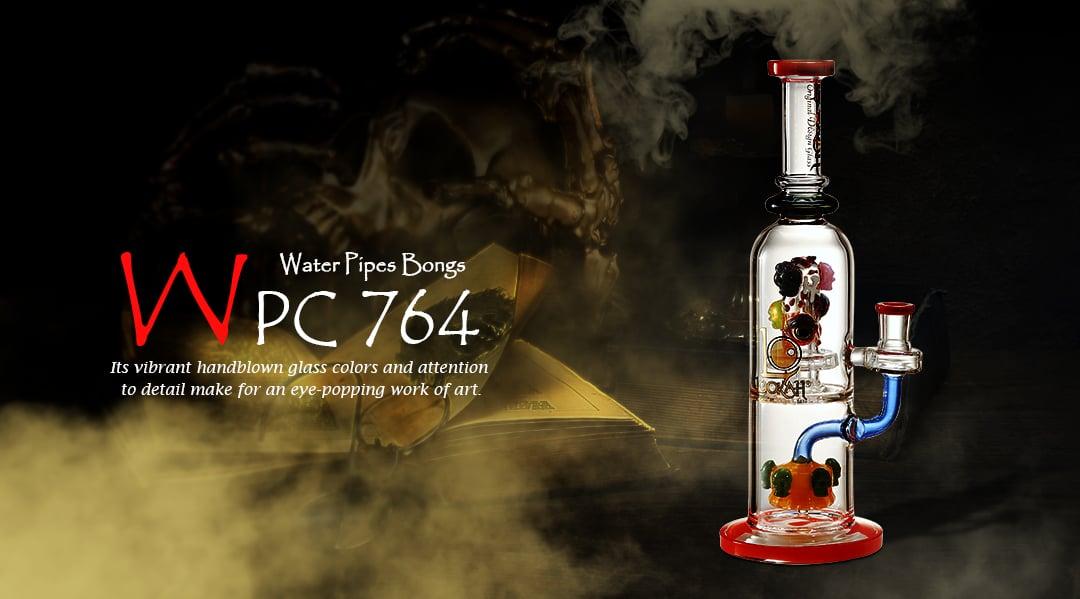 WPC764 Glass Bong