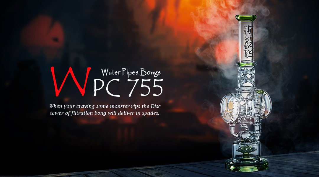 WPC755 Glass Bong